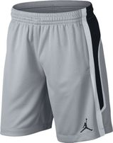 Basketobalové šortky Air Jordan Rise Solid short Grey Black 889606-012 9b52e7ae8b