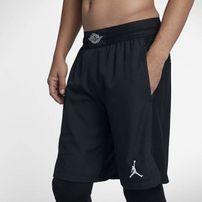 Šortky Air Jordan Ultimate Flight Basketball Shorts Black Black eb70116692
