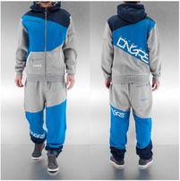 Dangerous DNGRS Teplaky DNGRS Suit Denim in grau