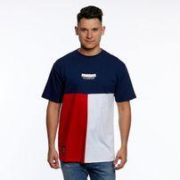 Mass Denim Capital T-shirt navy
