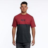 Mass Denim Result T-shirt heather claret