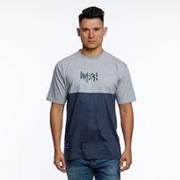 Mass Denim Result T-shirt light heather grey