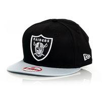 New Era 9Fifty Cotton Block Oakland Raiders Cap Black Grey