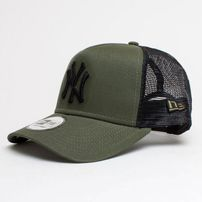 Kšiltovka New Era 9Forty A Frame Trucker Cap Essential NY Yankees Army Green 2c64586be1