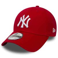 Kšiltovka New Era 9Forty MLB League Basic NY Yankees Scarlet White