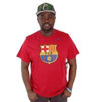 Nike Football FC Barcelona Tee Red 547175-651