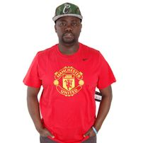 Nike Football Manchester United Tee Red 547185-650