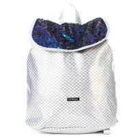 Batoh Spiral Liberty Ariel Sequins Silver Backpack Bag