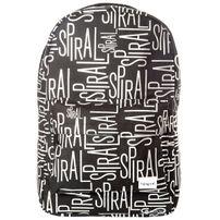 Spiral Linear Spiral Backpack Bag