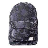 Spiral Tattoo Flock Black Backpack Bag