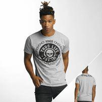 Thug Life Barley T-Shirt Grey Melange