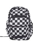 Urban Classics Backpack Checker black & white black/white