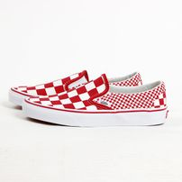 Tenisky Vans UA Classic Slip-On Mix Checker Chilli Pepper 30213959511