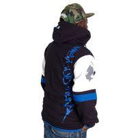 Wu-Wear Method Man Zip Hoody Black Navy
