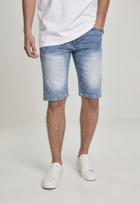 Levně Southpole Basic Denim Shorts lt.sand blue