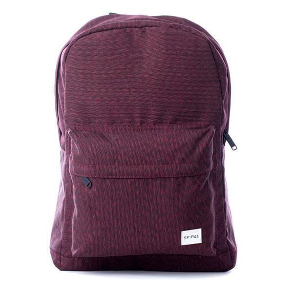 Batoh Spiral Chevron Backpack bag Burgundy - UNI