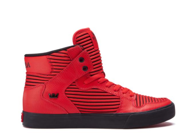 Supra Vaider Red Black - 44