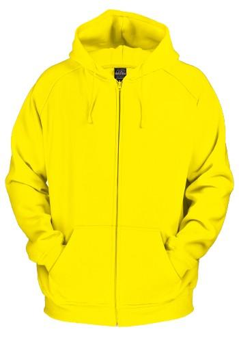 Urban Classic Zip Hoodie Yellow - 2XL