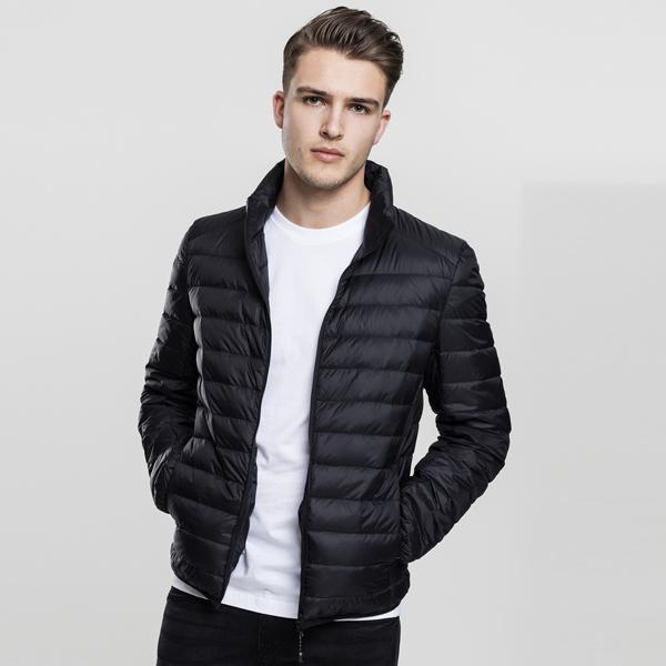 Urban Classics Basic Down Jacket black - L