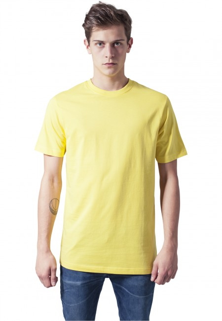 Urban Classics Basic Tee yellow - L
