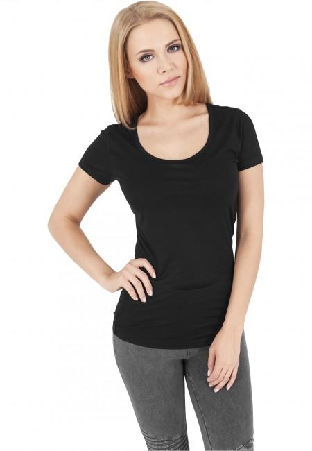 Urban Classics Ladies Basic Viscon Tee black - M