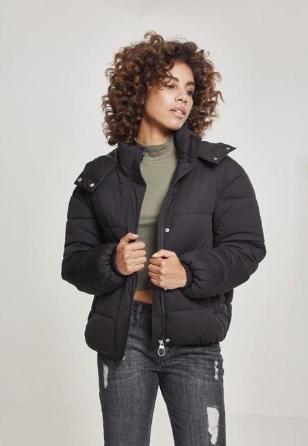 Urban Classics Ladies Boyfriend Puffer Jacket black