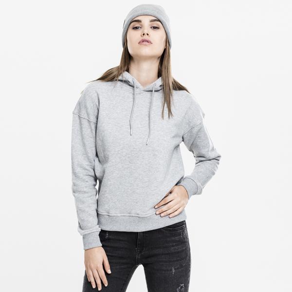 Dámská mikina Urban Classics Ladies Hoody grey