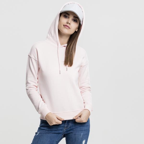 Dámská mikina Urban Classics Ladies Hoody pink