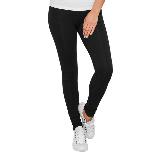 Urban Classics Ladies Melange Leggings Black - M