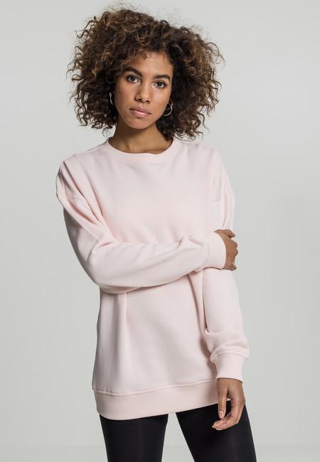 Urban Classics Ladies Oversize Crewneck pink