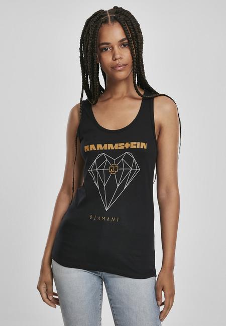 Levně Urban Classics Ladies Rammstein Diamant Tanktop black