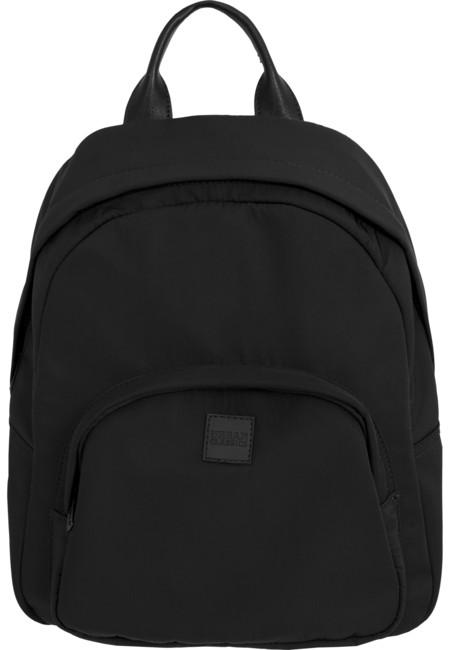 Urban Classics Midi Nylon Backpack black - UNI