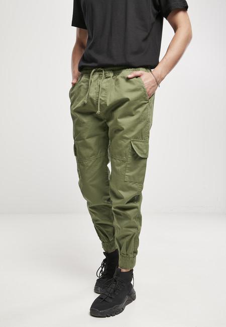 Levně Urban Classics Military Jogg Pants newolive