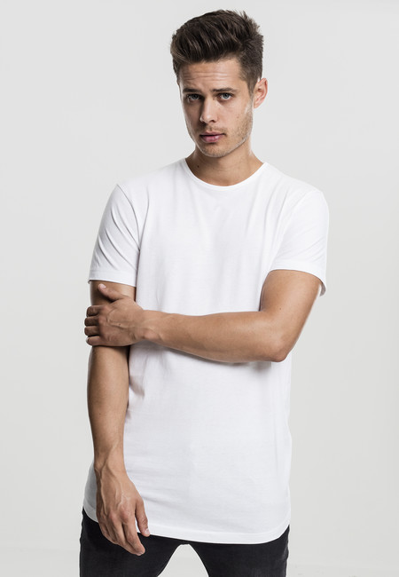 Urban Classics Peached Shaped Long Tee offwhite - M