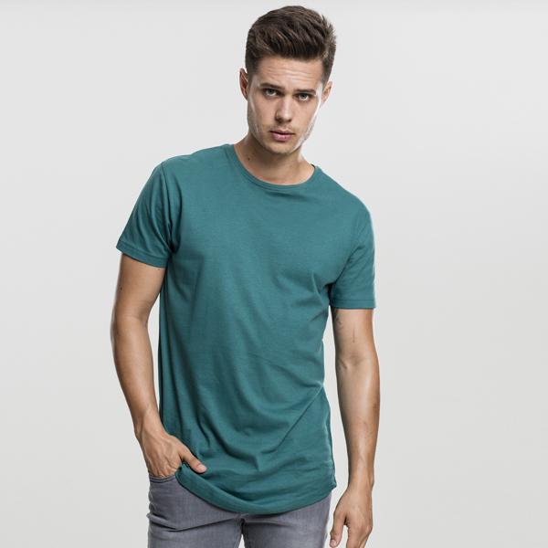 Pánské tričko Urban Classics Shaped Long Tee jasper - M