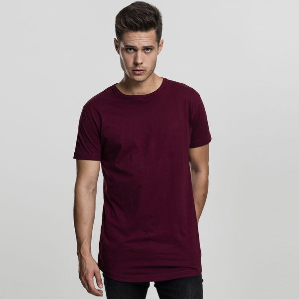 Urban Classics Shaped Long Tee port - M