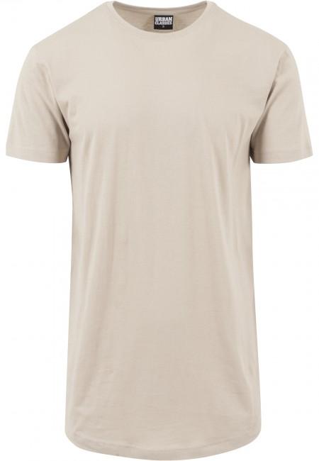 Pánské tričko Urban Classics Shaped Long Tee sand - M