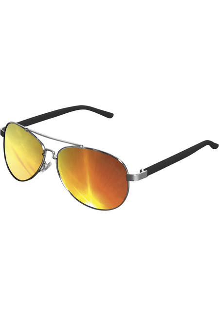 Urban Classics Sunglasses Mumbo Mirror silver/orange - UNI