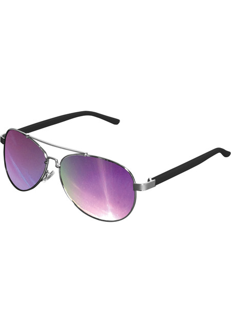 Urban Classics Sunglasses Mumbo Mirror silver/purple - UNI
