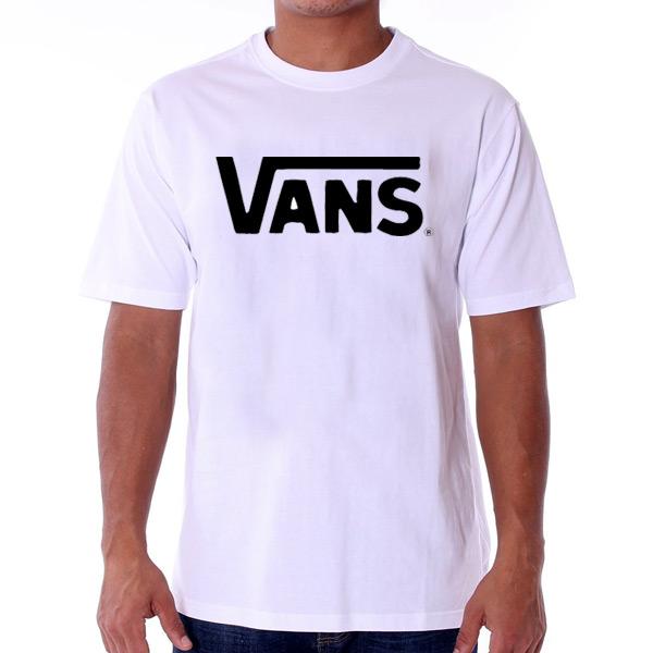 Pánské Tričko Vans MN Vans Classic T-shirt White Black VGGGYB2 - XL