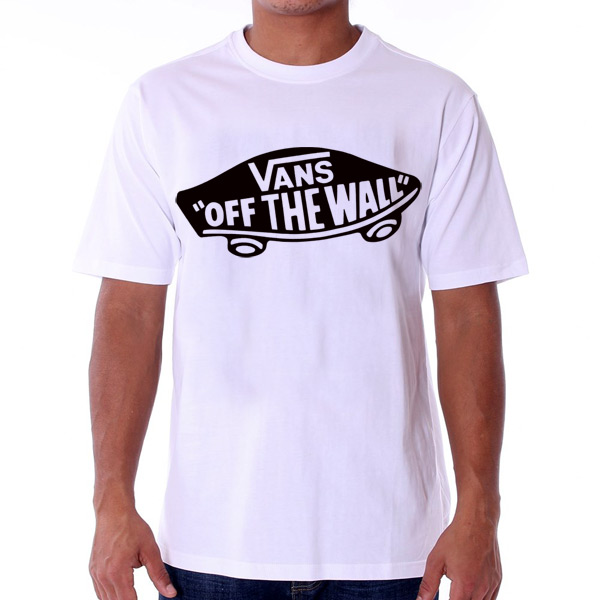 Pánské Tričko Vans MN Vans OTW T-shirt White Black VJAZZB2 - L