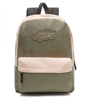 VANS WM REALM BACKPACK Dusty Olive - UNI