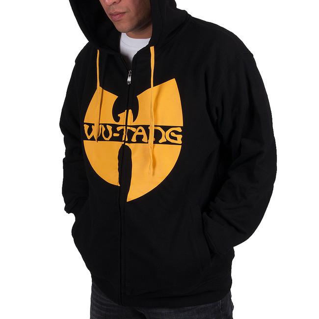 Panská Mikina Wu-Wear WU Tang zip Hoodie Black Yellow - M 6b2f14d2806